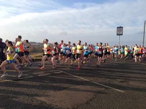photo of the start by Kirsty Hill