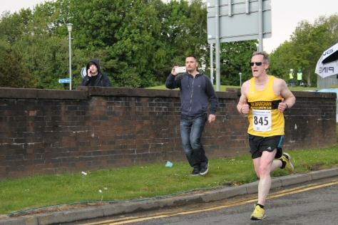 Norman Groves finishing (photo by Steven Hill)
