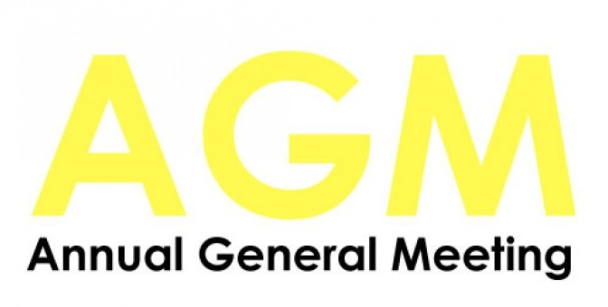 Annual General Meeting, Wed 25 Oct 2017