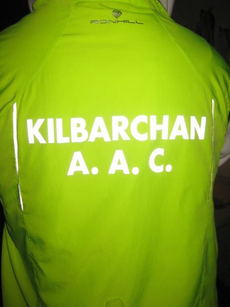 Reflective Kilbarchan AAC name on any current kit for £3.