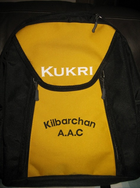 £20 for Kukri backpack (add £2 for 3 initials)