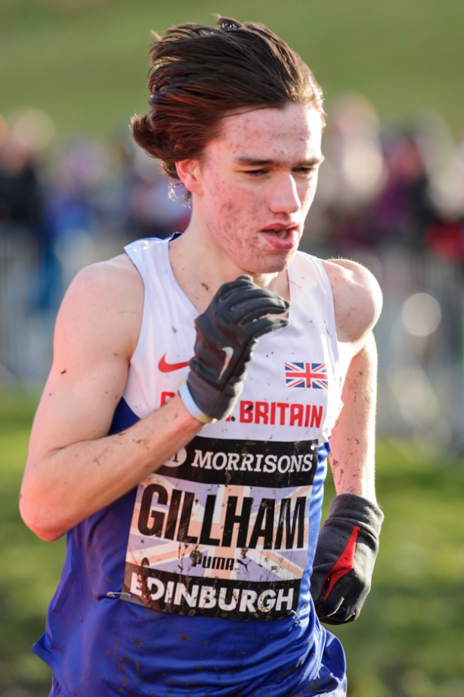 Gillham wins Junior Home Country Hill Race Championships