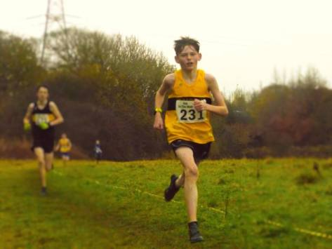 Lewis Hannigan on his way to silver (photo by Jeni Thomson)