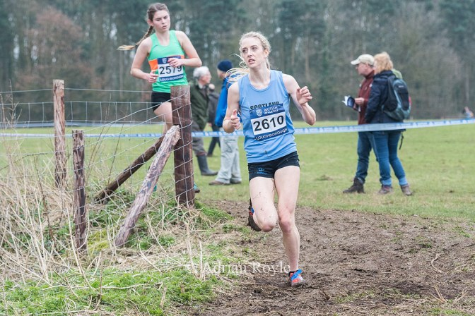 Reekie 7th at Inter Counties XC, Loughborough, Sat 11 Mar 2017