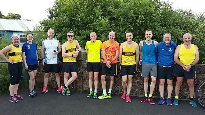 Sustrans 5 mile handicap, Wed 13 June 2018