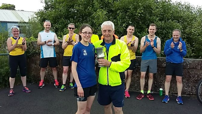 Sustrans 5 Mile Handicap Results, Wed 14 Jun 2017