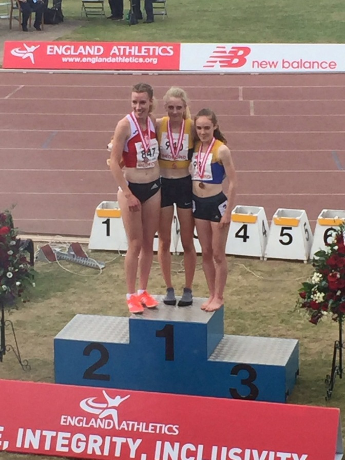 Reekie double Gold at U20 EA Championships