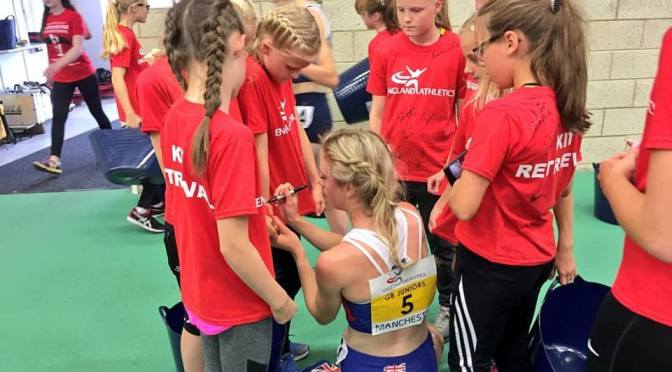 Reekie dominates the mile in Manchester