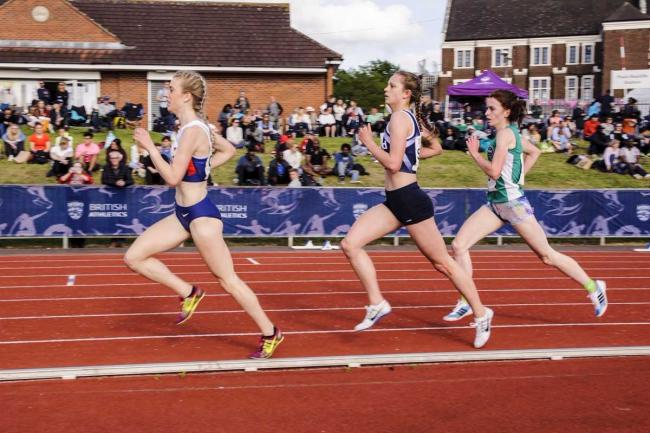 Jemma tops European U20 rankings with PB at Trafford GP