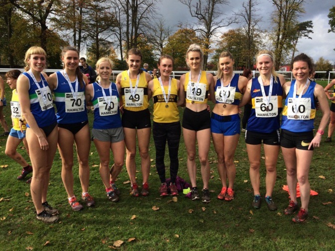 West District XC Relays Results, Sun 15 Oct 2017