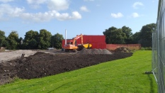 more earth and soil for the indoor facility